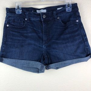 Banana Republic Premium Denim Roll Up Shorts